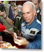 Dennis Tito, First Space Tourist Metal Print