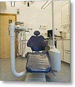 Dentist Chair Metal Print