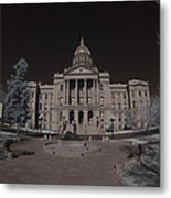 Denver Colorado Capital Metal Print