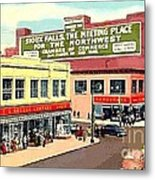 Department Stores In Sioux Falls S D Metal Print