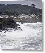 Depoe Bay Oregon Metal Print