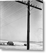 Depression Era Rural America Metal Print