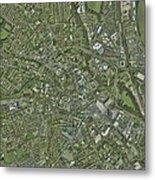 Derby, Uk, Aerial Image Metal Print
