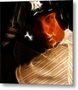 Derek Jeter - New York Yankees - Baseball  Metal Print by Lee Dos Santos