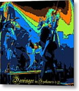 Derringer Rock Spokane 1977 Metal Print