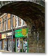Derry Shops Metal Print