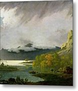 Derwent Water With Skiddaw In The Distance Metal Print