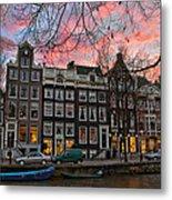 Desafinado-prinsengracht. Amsterdam Metal Print