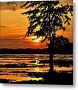 Deschenes Sunset Metal Print