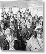 Desegregation: Busing, 1973 Metal Print