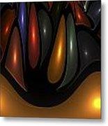 'desert Bubbles Metal Print