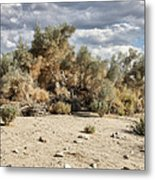 Desert Cloud Palm Springs Metal Print
