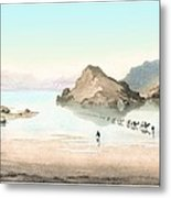 Desert Mirage, 1854 Artwork Metal Print