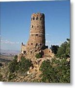Desert Watchtower Metal Print