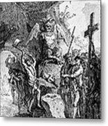 Destruction Of Idols, C1750 Metal Print