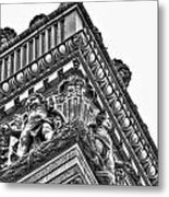 Details Of The Ellicott Buildings Roof Metal Print