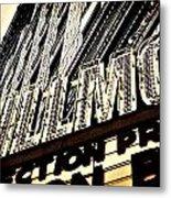 Detroit Fillmore Theatre Metal Print