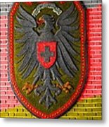 Deutsch Weimarer Shield Metal Print