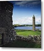 Devenish Monastic Site, Lough Erne, Co Metal Print