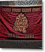 Devil Dogs Metal Print