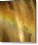 Devil In The Rainbow Metal Print