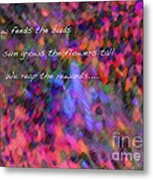 Dew Haiku Metal Print