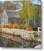 Dexter's Grist Mill Metal Print by Catherine Reusch Daley