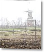 Dezwaan Windmill In Holland Michigan No.232 Metal Print