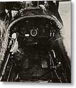 Dh-4 Aeroplane Radio Metal Print by Miriam And Ira D. Wallach Division Of Art, Prints And Photographsnew York Public Library