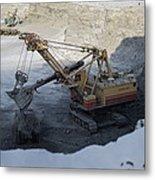 Diamond Mining, Sakha Metal Print