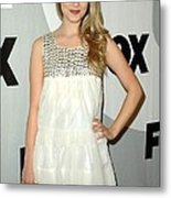 Dianna Agron At Arrivals For Fox Tca Metal Print