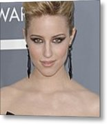 Dianna Agron At Arrivals For The 53rd Metal Print