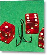 Dice Red Hook 1 A Metal Print