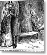 Dickens: Martin Chuzzlewit Metal Print