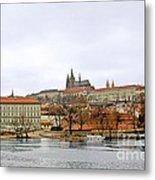 Die Moldau - Prague Metal Print by Christine Till