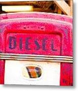Diesel Pump Metal Print by Tom Gowanlock