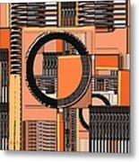 Digital Design 385 Metal Print