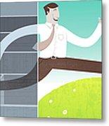 Digital Illustration Metal Print by All images ? Tyler Garrison, 2009.