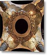 Digital Liquid -  Ww II Memorial Victory Wreath Metal Print