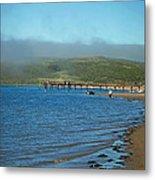 Dillon Beach Pier Metal Print