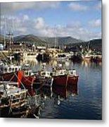 Dingle, Co Kerry, Ireland Boats In A Metal Print