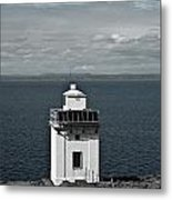 Dingle Peninsula Lighthouse Ireland Metal Print