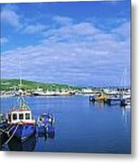 Dingle Town & Harbour, Co Kerry, Ireland Metal Print
