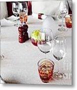 Dining Table. Metal Print