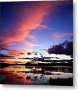 Dinish Island, Near Kenmare, Ring Of Metal Print
