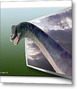 Dinosaur - Oof Metal Print