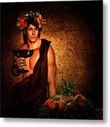 Dionysus Metal Print by Lourry Legarde