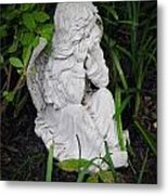 Dirty Little Angel Metal Print