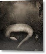 Disappearing Light Metal Print by Gun Legler