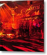 Disaster In The Streets Metal Print